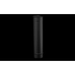 Pelletkachel rookkanaal zwart RVS, Ø80mm premium line, 500mm pijp - 10016