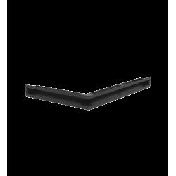 Hitze Ventilatierooster Slim (HOEK) 600x400x60mm L - 10071