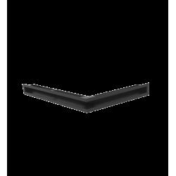Hitze Ventilatierooster Slim (HOEK) 600x400x60mm R