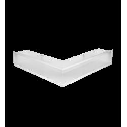 Hitze Ventilatieroosters Slim (Hoek) 600x400x90mm L