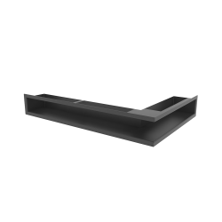 Hitze Ventilatieroosters Slim (Hoek) 600x400x90mm R