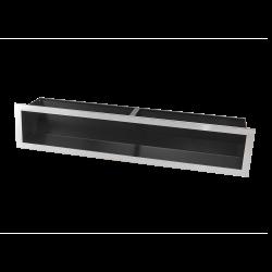 Hitze Ventilatierooster SLIM INOX 120X600mm