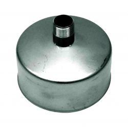 Rookkanaal RVS, Deksel/condens afvoer, diameter Ø100