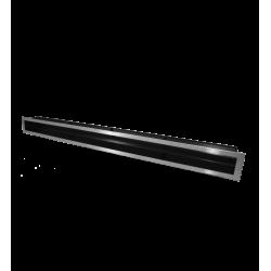 Hitze Ventilatierooster SLIM INOX - 90x1000mm