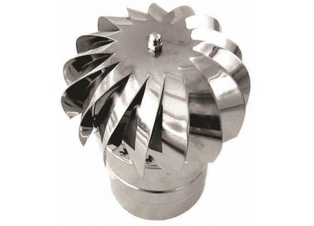 Rookkanaal RVS, aspiromatic, diameter Ø130 - 1048