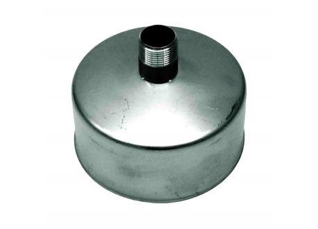 Rookkanaal RVS, Deksel/condens afvoer, diameter Ø130 - 1054