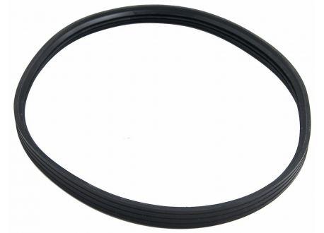 Rookkanaal RVS, afdichtrubber, diameter Ø130 - 1060