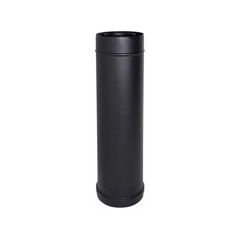 Concentrisch rookkanaal RVS, diameter Ø100-150mm, 1000mm pijp