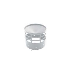Windkap RVS, diameter Ø80mm vrouwelijk