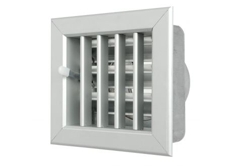 Ventilatierooster 140x130mm, aansluiting Ø100mm - 10960