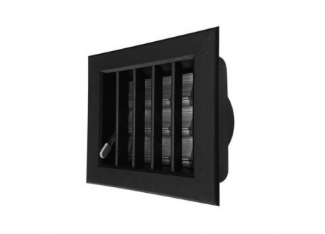 Ventilatierooster 100x100mm, aansluiting Ø60mm - 10974