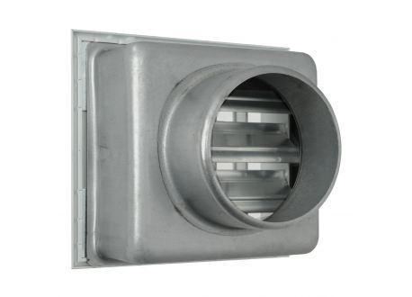 Ventilatierooster 180x180mm, aansluiting Ø150mm - 10975