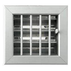 Ventilatierooster 180x180mm, aansluiting Ø150mm - 10976