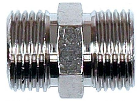 "Messing nipple 1/2"" (man-man)  - 1135"