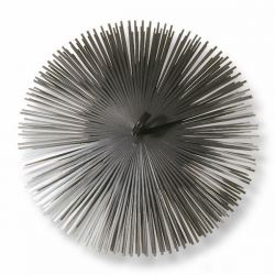 Borstelkop staal, rond, 180mm