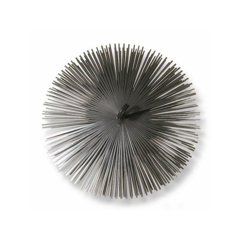 Borstelkop staal, rond, 180mm - 1403