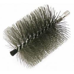 Schoonmaak borstelkop nylon rond, 100mm