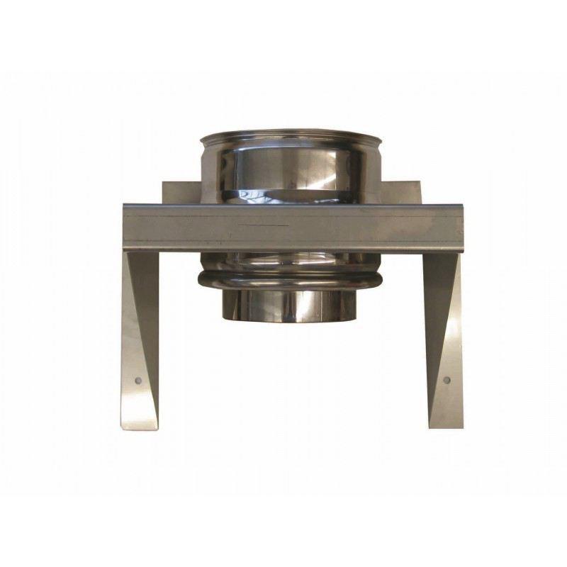 Rookkanaal RVS, Stoelconstructie, diameter Ø80-130 - 1538