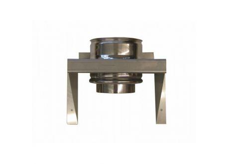 Rookkanaal RVS stoelconstructie, diameter Ø350-400 - 1696