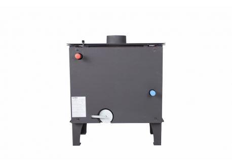 Houtkachel TSH met boiler (6,5kW vuur en 13,5kW water) - 2348