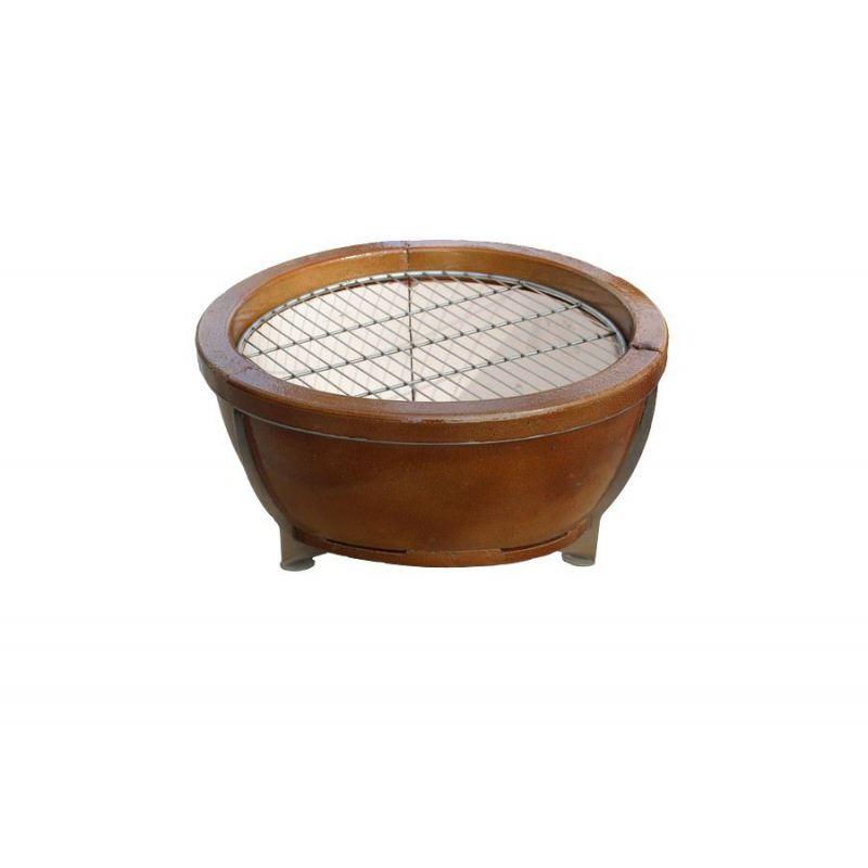 RVS grilrooster voor op de Amphora vuurpot - 2383