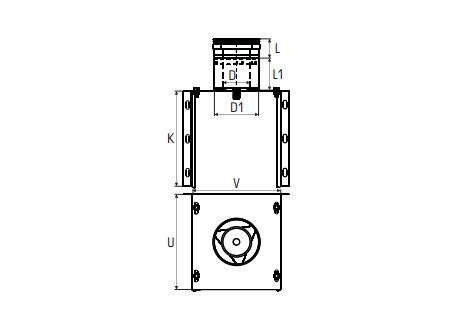 Concentrisch rookkanaal RVS, diameter Ø100-150, stoelconstructie met condensdop - 2701