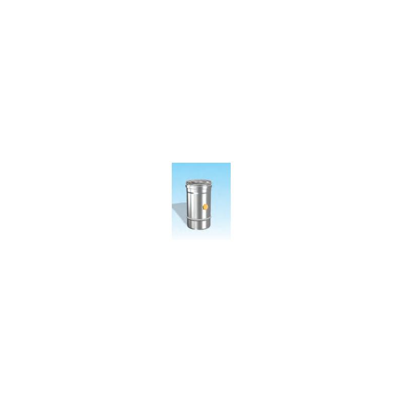 Concentrisch rookkanaal RVS, diameter Ø130-200, Temperatuurelement - 2753