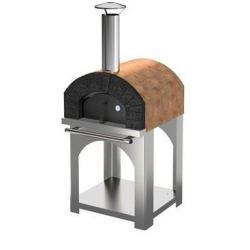 Hout en pelletgestookte pizzaoven HOBBY (incl. onderstel)
