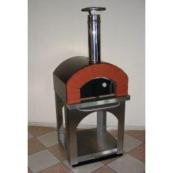 Hout en pelletgestookte pizzaoven HOBBY (incl. onderstel) - 3296