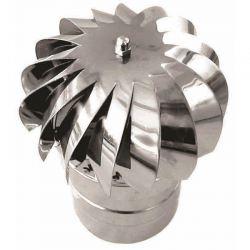 Rookkanaal RVS, aspiromatic, diameter Ø160
