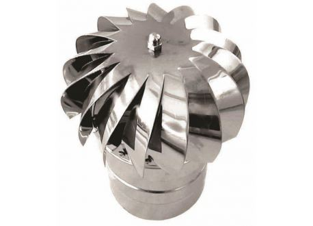 Rookkanaal RVS, aspiromatic, diameter Ø160 - 3382