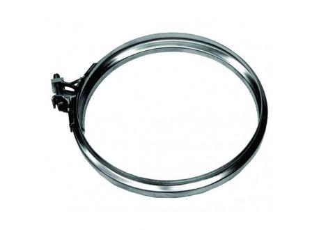 Rookkanaal RVS, Klemband, diameter Ø110 - 3399