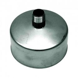 Rookkanaal RVS, Deksel/condens afvoer, diameter Ø300