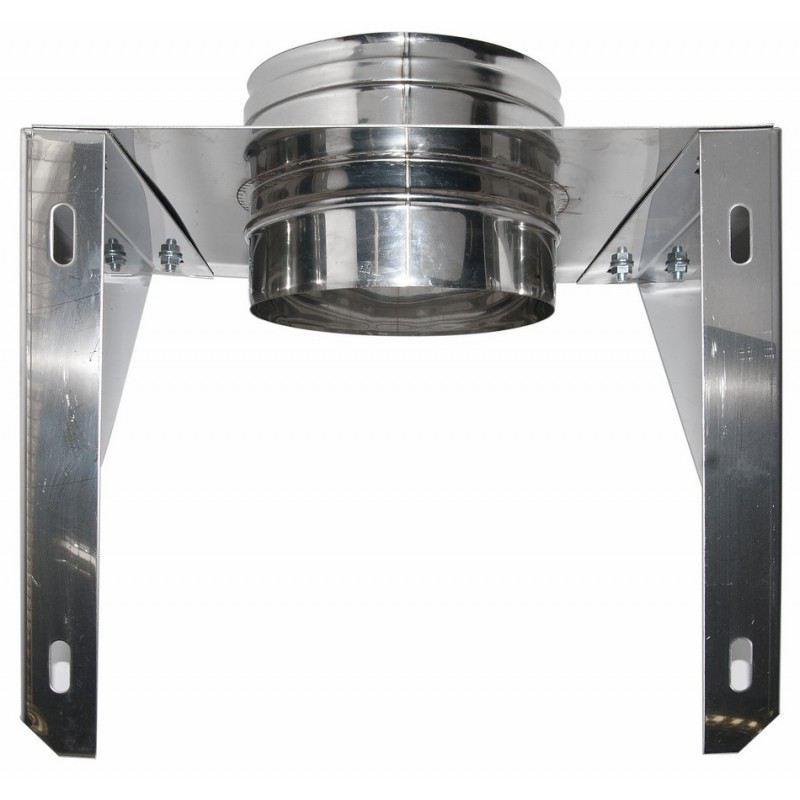 Rookkanaal RVS, stoelconstructie, diameter Ø350 - 3619