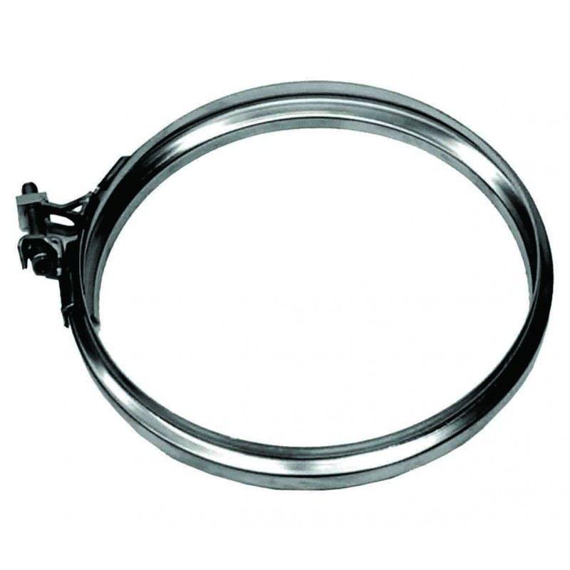 Rookkanaal RVS, Klemband, diameter Ø300 - 3623