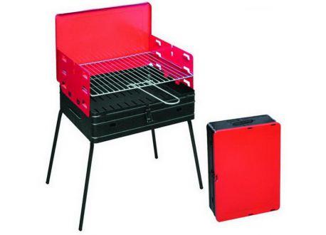 Houtskool barbecue, 40x30x72 cm, inklapbaar/draagbaar model - 3748