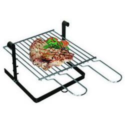 Inzet barbecue voor openhaard, 40x40 cm,