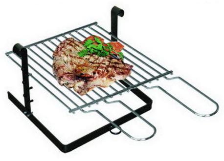 Inzet barbecue voor openhaard, 40x40 cm, - 3751