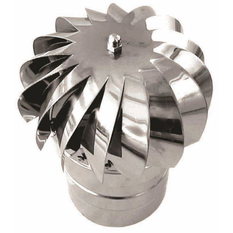 Enkelwandig rookkanaal RVS, aspiromatic, diameter Ø200