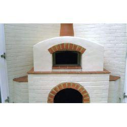 Houtgestookte pizzaoven VESUVIO