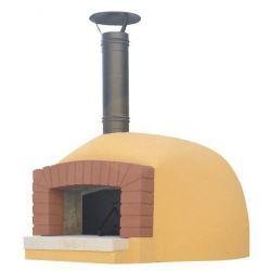 Houtgestookte pizzaoven ETNA (incl. verf, cement en isolatiepakket)