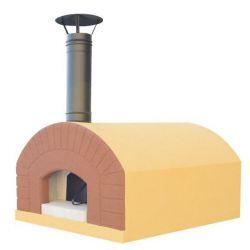 Houtgestookte pizzaoven LINOSA (incl. verf, cement en isolatiepakket)