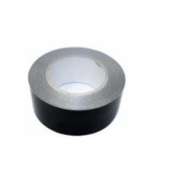 Tape aluminium zwart 50m, 50mm
