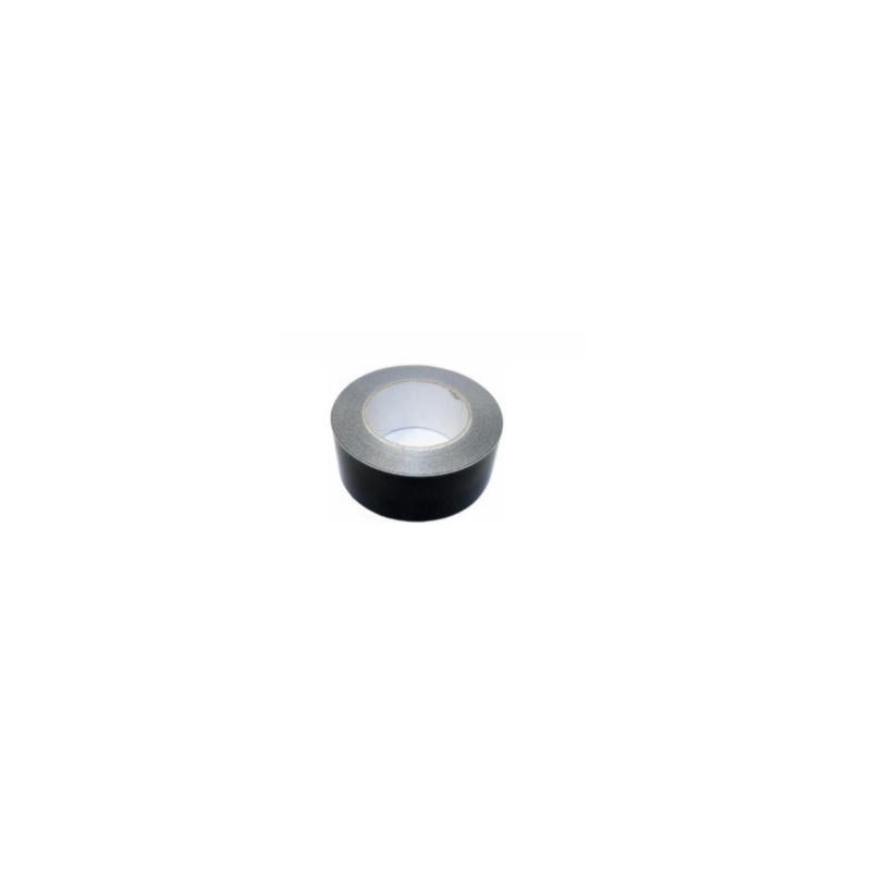 Tape aluminium zwart 50m, 50mm - 4213