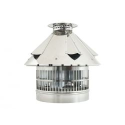 Elektrische rookgas ventilator, verstelbare vierkante aansluiting, 320*320mm420*420mm - 4937