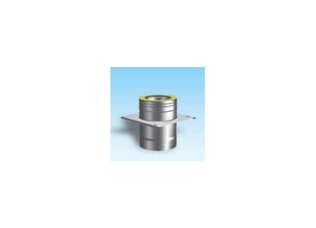 Dubbelwandig rookkanaal RVS, Topaansluiting, diameter Ø150-200mm - 5046