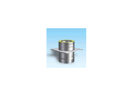 Dubbelwandig rookkanaal RVS, Topaansluiting, diameter Ø200-250 - 5050