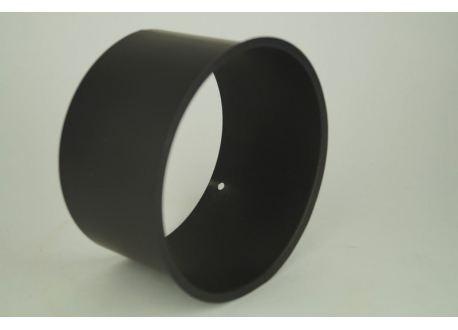 Kachelpijp dikwandig staal, diameter Ø130, nisbus - 5357
