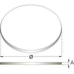 Flexibel rookkanaal, verstelbare klemband Ø60-325mm
