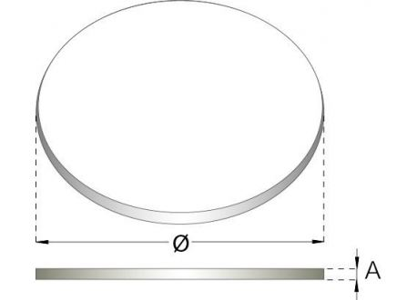 Flexibel rookkanaal, verstelbare klemband Ø60-325mm - 559
